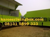 karoseri wing box Hino FL235JW 9.7 meter