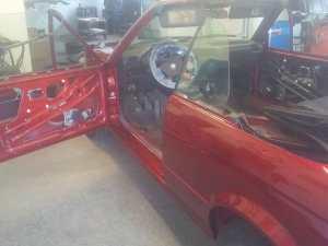 Rostbeseitigung BMW E30 Cabriolet