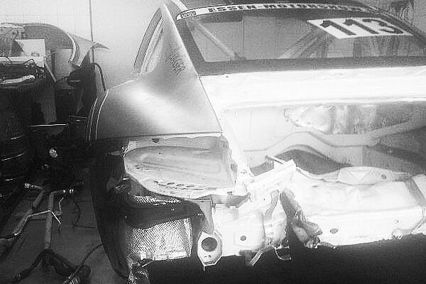 Porsche 911 Cup, Unfallinstandsetzung