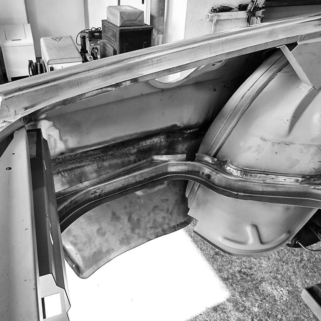Oldtimer-Restauration Karosseriebau, Blech- und Schweissarbeiten