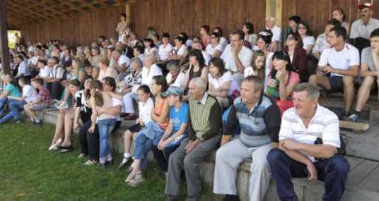 A közönség egy része