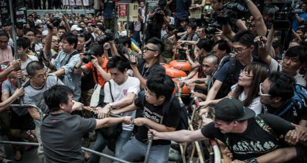 Ismét összecsapások voltak Hongkongban