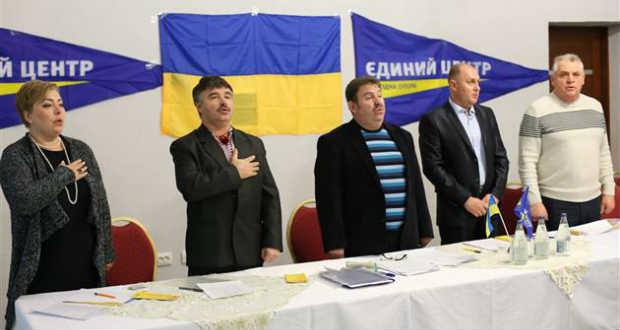 Kovács Zoltán az Egységes Közép párt beregszászi járási szervezetének elnöke