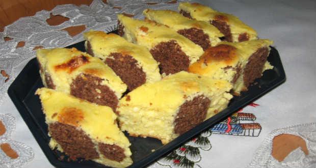 Kukucskálós túrós süti recept