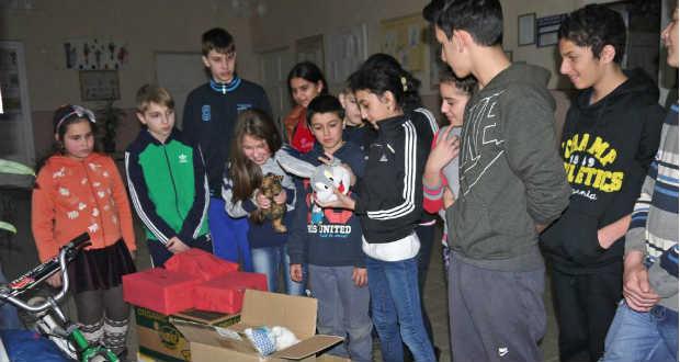 Kunszentmiklósi segítség az ungvári járási rászoruló gyermekek számára
