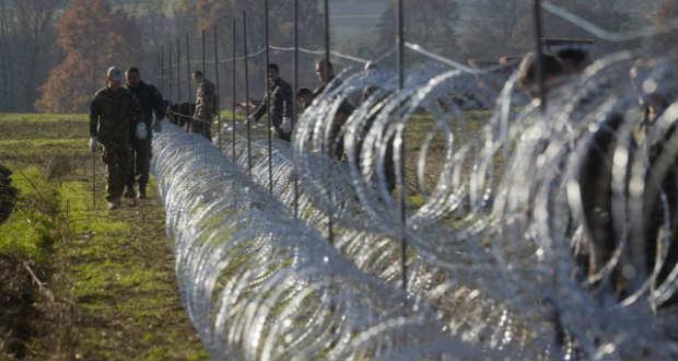 Megkezdődött a kerítésépítés az osztrák-szlovén határon