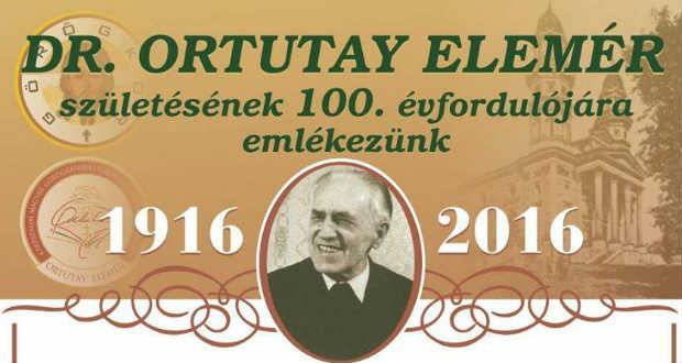 Ortutay Elemér emlékév