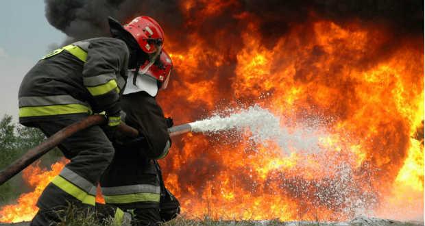 Önkéntes tűzoltóknak tartanak képzést magyarországi szakemberek Kárpátalján