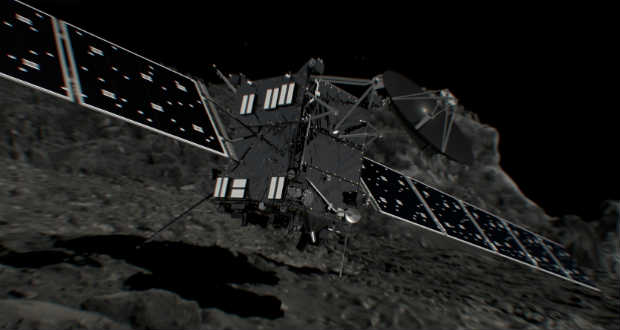 Ma zárul a Rosetta-küldetés az üstökös felszínén