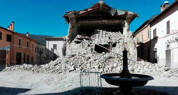 Mindent újjáépítenek az olasz földrengés után