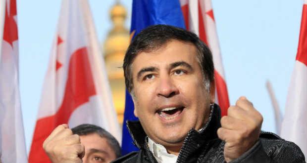 Újabb ellenzéki tüntetést szervezett Szaakasvili Kijevben