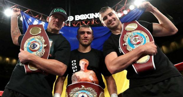 Ukrán bokszoló a legjobb a világon a The Ring sportlap szerint