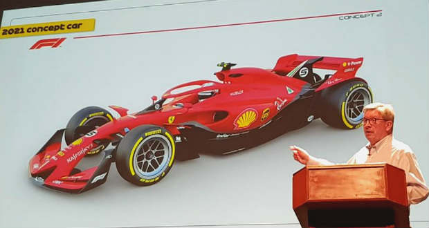 Kiszivárgott grafikán az F1 2021-es autója!