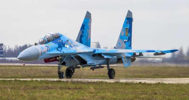Lezuhant egy vadászrepülőgép gyakorlatozás közben Ukrajnában, két pilóta meghalt