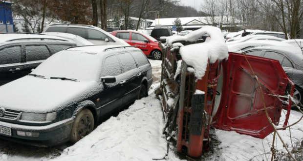 Autótemetők Szlovákia Ukrajnával határos településein