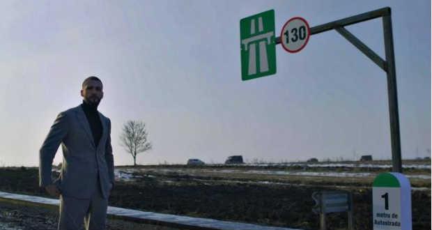 Saját költségén építtette meg az első, mindössze egy méter hosszú moldvai autópályát egy román vállalkozó