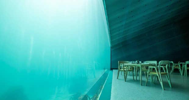 Megnyílt Európa első víz alatti étterme
