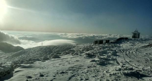 Megérkezett a tél a Kárpátokba