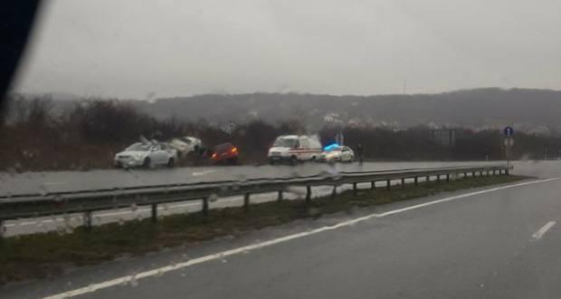 Közúti baleset az Ungvári járásban