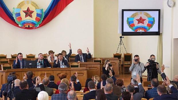A luhanszki szakadárok az oroszt ismerték el egyedüli hivatalos nyelvként