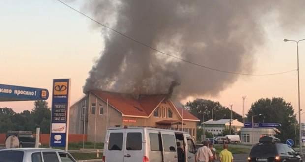 Tűzeset a Tisza határátkelő közelében