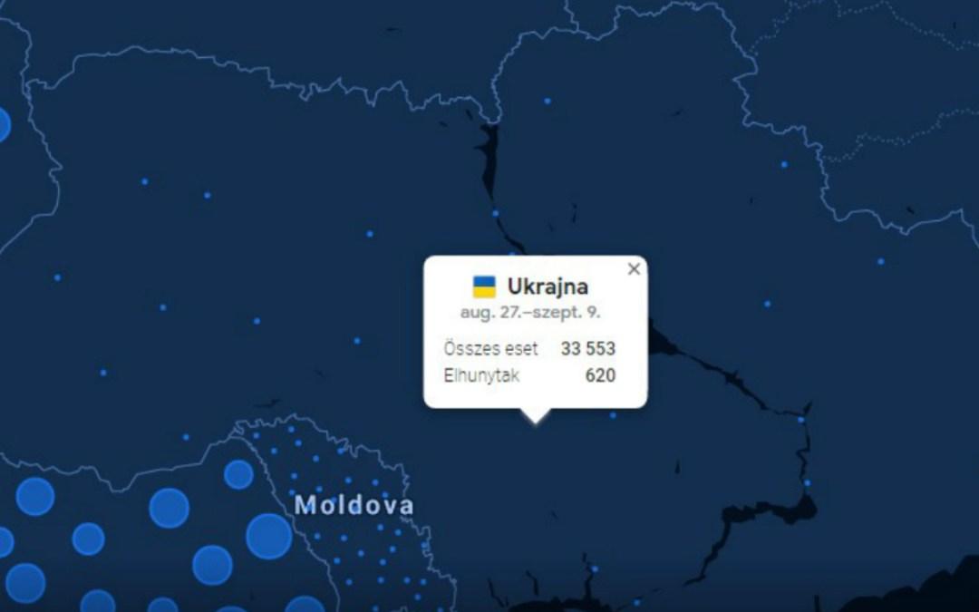 Egész Ukrajna vörös zónába kerülhet