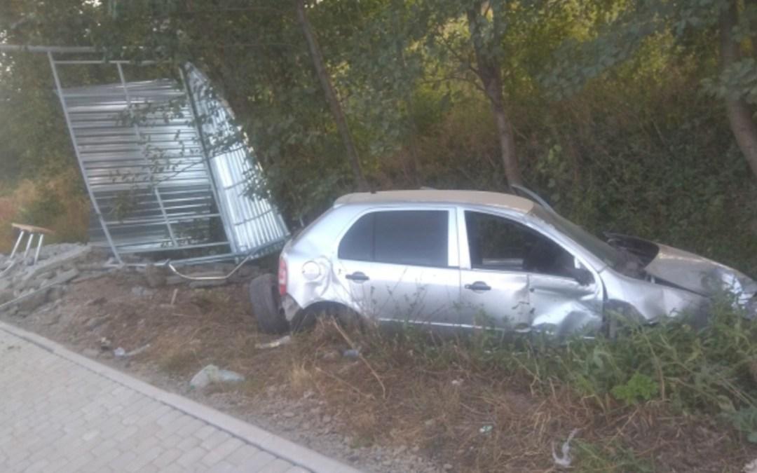 Buszmegállóba hajtott egy sofőr a Munkácsi járásban