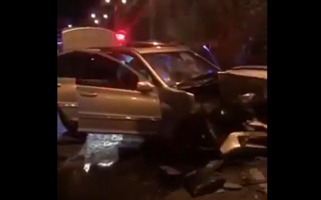 Két autó ütközött össze Nagyszőlősön