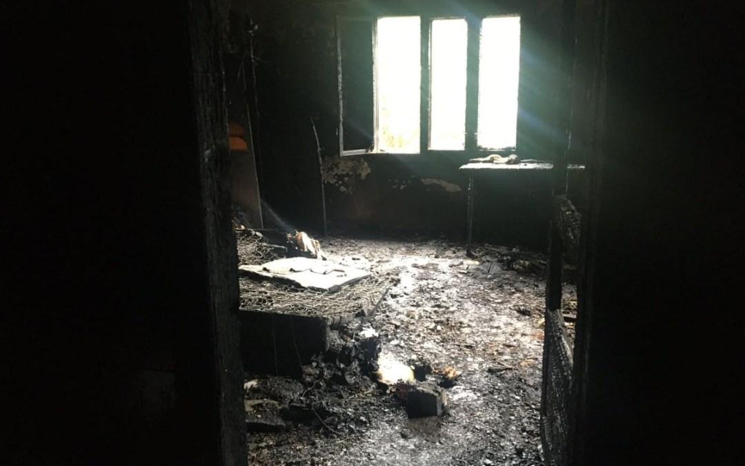 Egy nap alatt két tűzeset történt a Rahói járásban