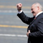 Sajtó jelenlét nélkül tette le hivatali esküjét Lukasenka