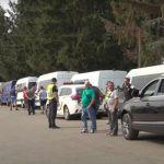Közel 400 jármű várakozik Asztélynál