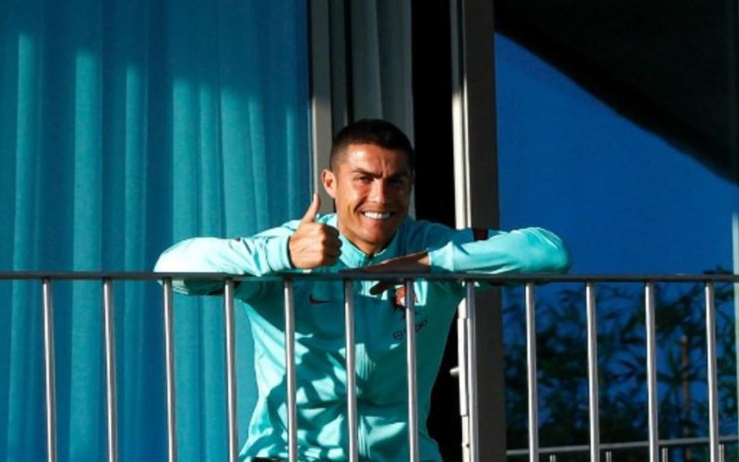Cristiano Ronaldo is elkapta a koronavírust