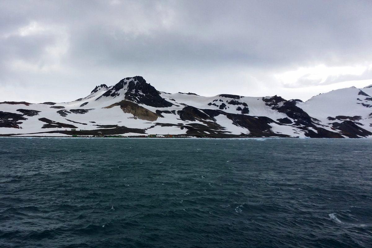 György király sziget Antarktisz