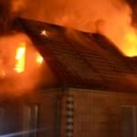Kiégett egy családi ház az Ilosvai járásban