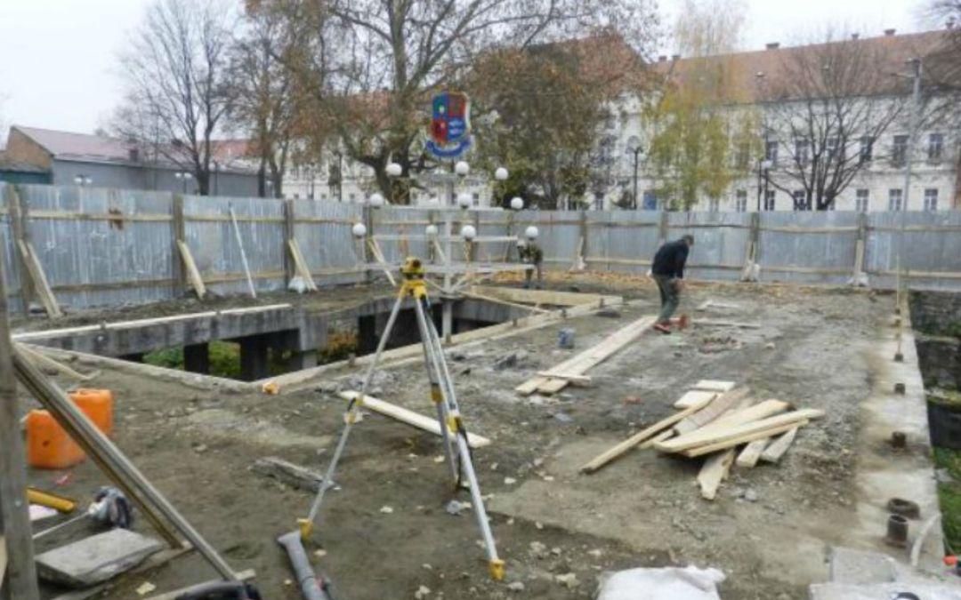 Felújítják a Budapest parkot Beregszászban