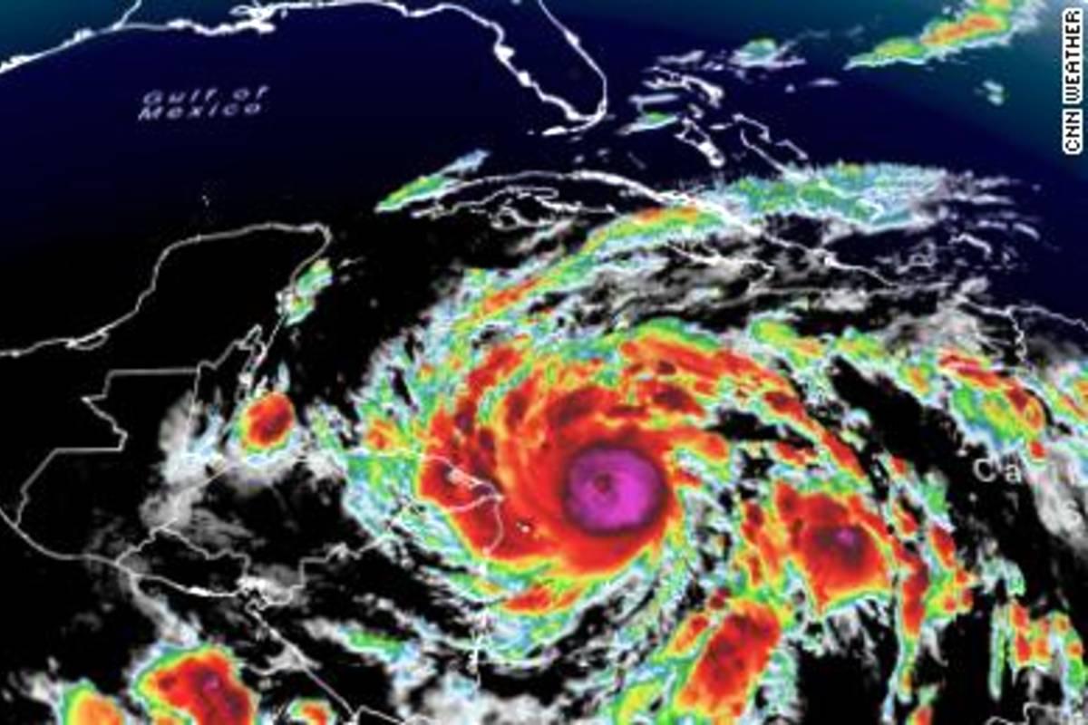 Eta hurrikán