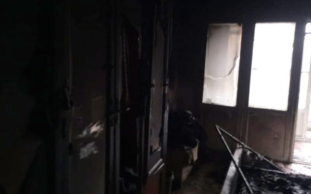 Két ember megsérült a hétvégi tűzesetekben Kárpátalján