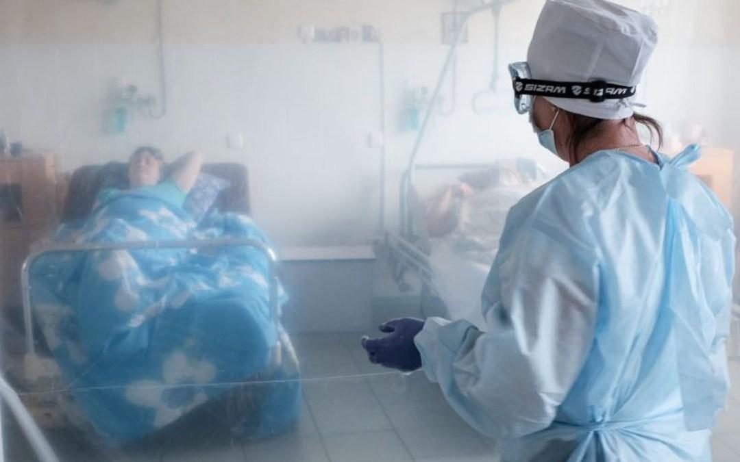Ukrajnában csaknem hatezer új beteget regisztráltak