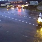 Három jármű ütközött össze Ungváron
