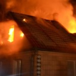 Kigyulladt egy családi ház a Munkácsi járásban