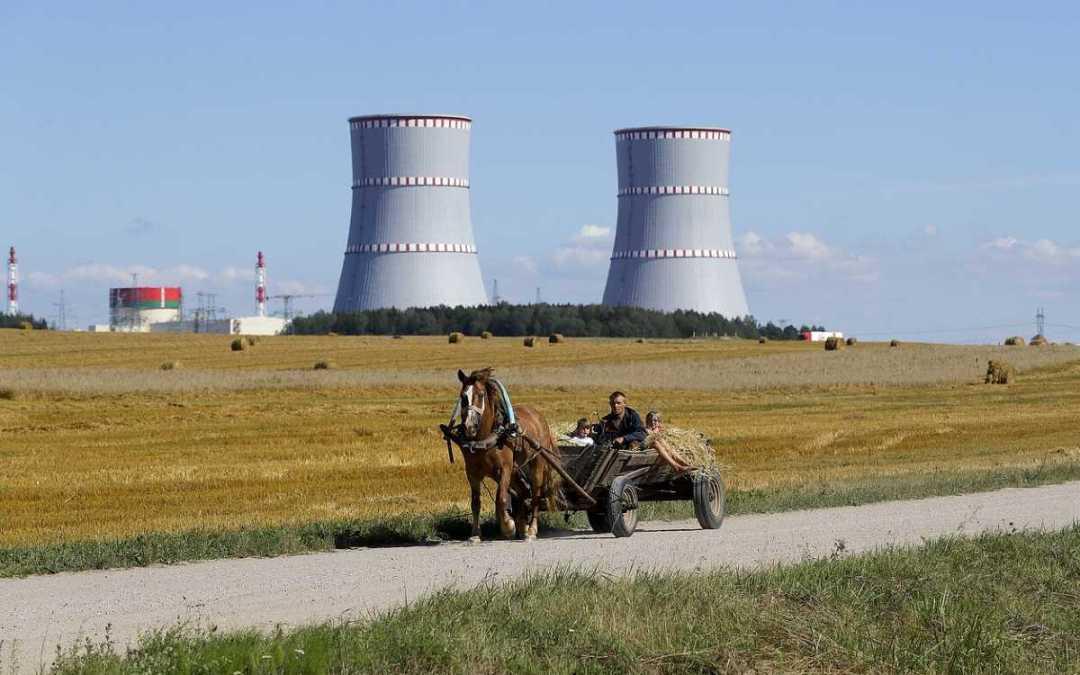 Leállt egy fehérorosz atomerőmű egyik blokkja
