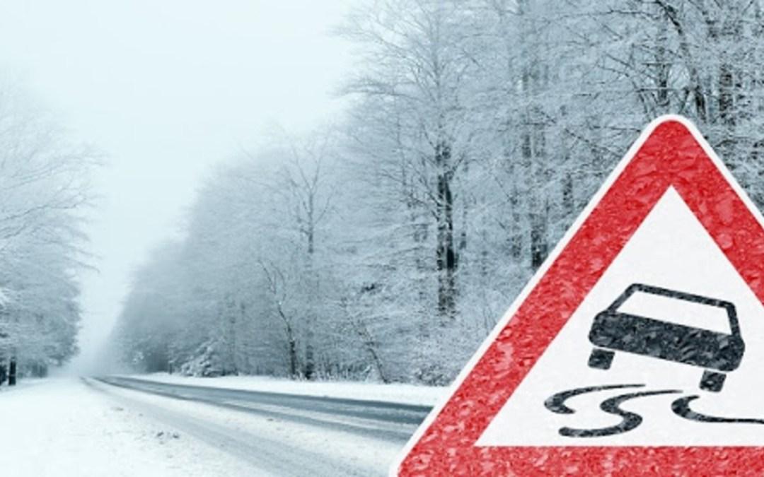Több baleset történt a havazás miatt Kárpátalján