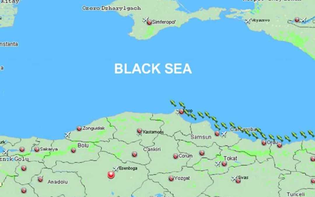 Elsüllyedt egy palaui teherhajó a Fekete-tenger török partjainál