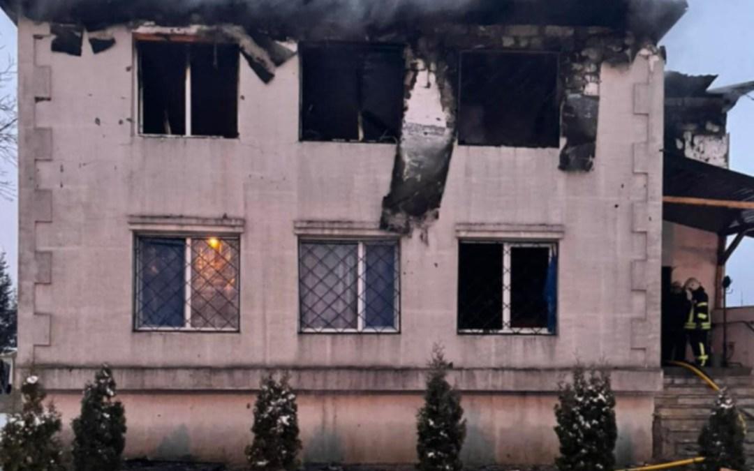 Tűz ütött ki egy harkovi idősotthonban