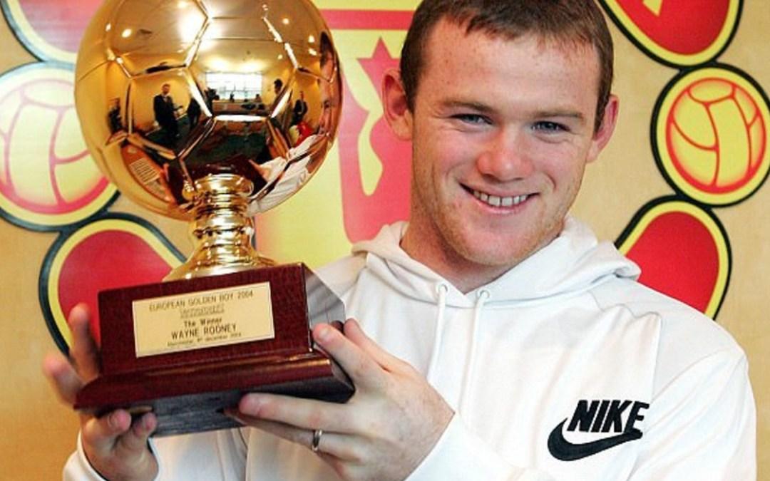 Így alakult az egykori Golden Boy-díjasok karrierje: Wayne Rooney