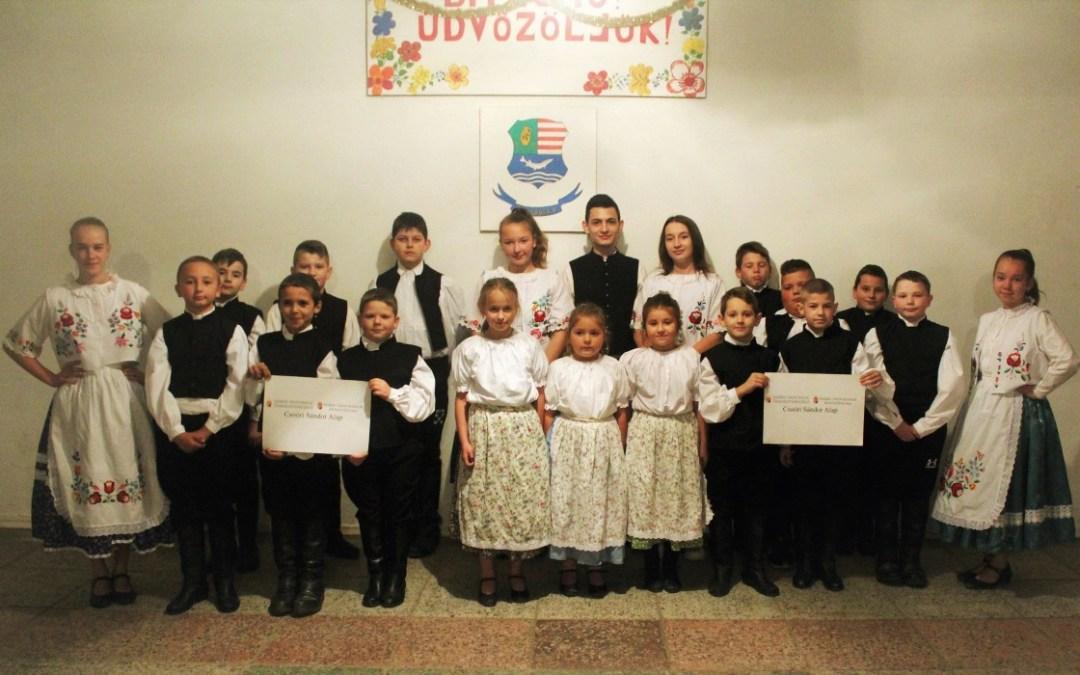 A Beregvidéki Zeneiskolák és Művészeti Iskolák Szövetségének köszönetnyilvánítása