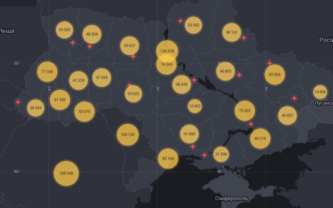 Koronavírus Ukrajnában: 8 147 új fertőzött, 135 áldozat