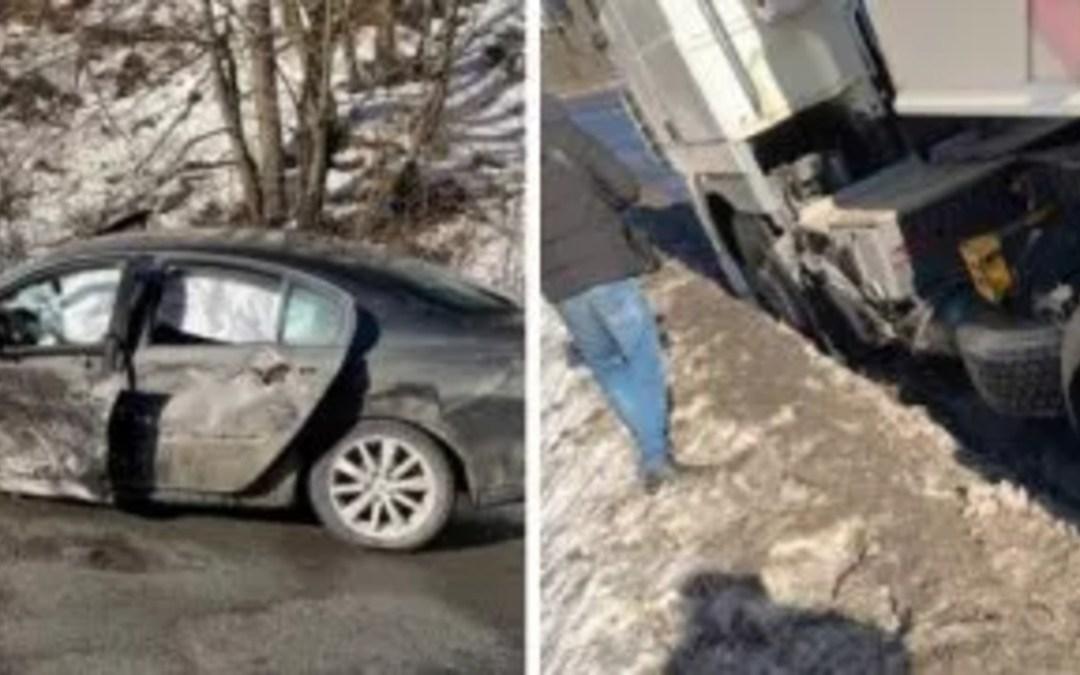 Ittasan okozott balesetet egy sofőr a Kijev–Csap autóúton
