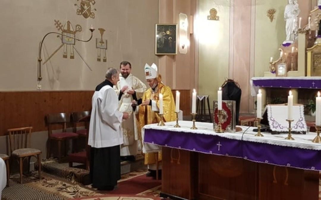Pro Ecclesia Emlékérem és Szent Márton Palástja-díj átadása Huszton