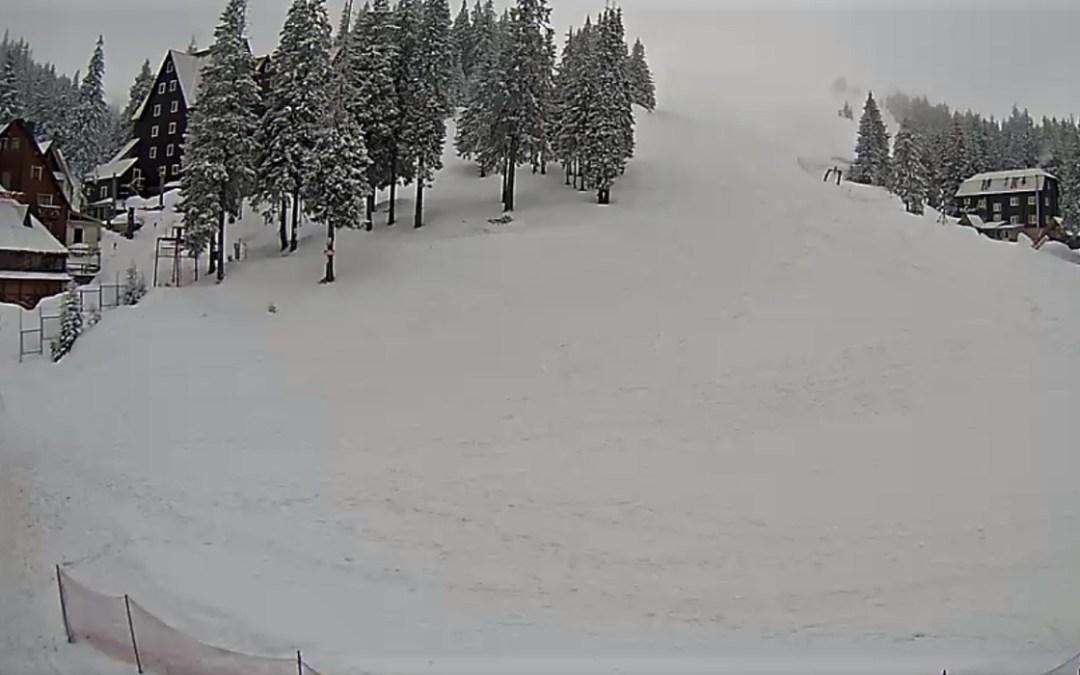 Visszatér a tél a hegyvidéki területekre